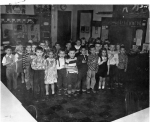 Miss Ney's kindergarten class at Moyer, circa 1956. I can name a bunch of people beyond those in our 1967 class (ye